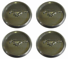 (4) 2006 OEM FORD MUSTANG PONY GUNMETAL GRAY CENTER CAPS HUBCAPS