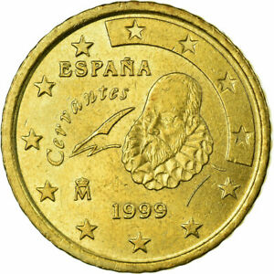 [#724035] Espagne, 50 Euro Cent, 1999, TTB, Laiton, KM:1045