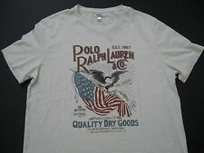 POLO RALPH LAUREN Men's Custom Fit Patriotic Screen Print Graphic T-Shirt XXL