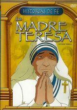La Madre Teresa / Mother Teresa DVD NEW Historias De Fe La Biblia