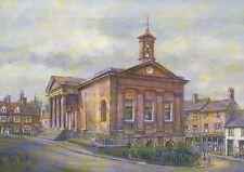 Town Hall, Chipping Norton, England, Clock & Bell -- United Kingdom Art Postcard