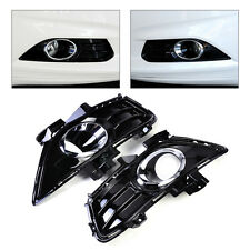 Front Bumper Fog Light Lamp Grille Cover DS73-19952CAW Fit Ford Fusion Mondeo