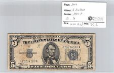 BILLET USA - 5 DOLLARS 1934 A - E.A