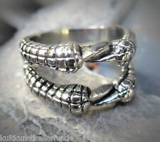 gothic MA biker klauen claw ring edelstahl  10g 22mm neu