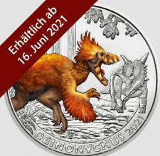 3 EURO SUPER SAURIER TALER ⭐ DEINONYCHUS ANTIRRHOPUS ⭐ 2021 ⭐ AUSTRIA ⭐ PAYPAL