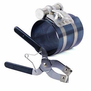 Kolbenspannband Kolbenringspanner Satz 53mm-175mm mit Kolbenringzange Werkzeug