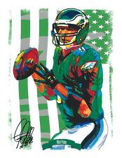 Nick Foles Philadelphia Eagles NFL Football Sports Print Poster Wall Art 8.5x11