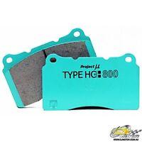 PROJECT MU HC800 for XYZ 6 Piston - 330mm & 355mm Rotors {17mm} {FRONT}