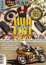 RAD MAGAZINE HS1 Préparation YAMAHA XS 650 Café Racer HONDA CUB NORTON Commando