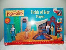 Disney Pocahontas Fields Of War Playset Mattel New Unopened Mattel NIB
