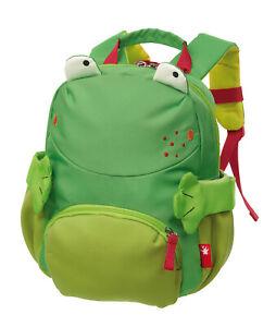 Sigikid Mini Rucksack Frosch, Art-Nr. 24920 Neu Kindergarten Freizeit