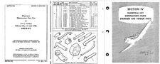 F4U Corsair parts service Manuals Chance Vought Period Aircraft WW2 1940 RARE