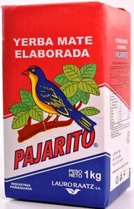 Paraguayan Yerba Mate Tea - Pajarito & Selecta - 1kg pack