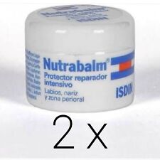 PACK 2x ISDIN NUTRABALM JAR 10ml  lips, nose and perioral area TOTAL 20ml