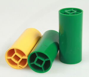 FILM CORES, SET OF 3, YELLOW / GREEN