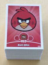 2012 Rovio Angry Birds Trading Card NEAR Set