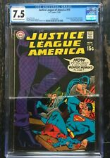 Justice League Of America #75 1969 1st Black Carnary CGC 7.5 1570053004