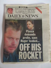CLEMENS OFF HIS ROCKET MIKE PIAZZA NEW YORK DAILY NEWS NEWSPAPER 10/24 2000