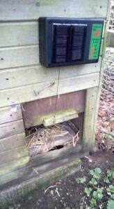 Autocoop solar powered chicken coop door opener