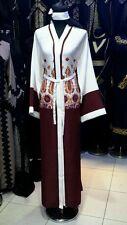 Damen Offene Vorderseite Abaya Saudi-Arabien / Dubai Abaya.sizes 54.56-linen /