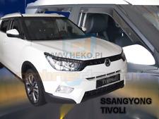 Wind deflectors SSANGYONG TIVOLI 5-doors 2015-onwards 4-pc HEKO Tinted