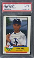 1994 Fleer Procards Derek Jeter Tampa Yankees HOF ROOKIE RC #2393 PSA 9 MINT