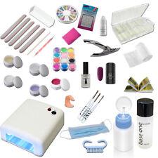 UV Gel Starterset mit Nailart Zubehör - Startset - Einsteigerset - UV Gel Kit