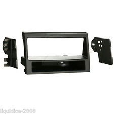 CT24KI12 FOR KIA SOUL 2010 to 2011 MATT BLACK SINGLE DIN FASCIA ADAPTER PANEL