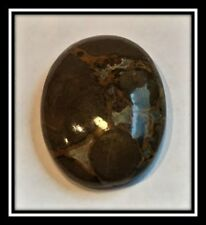 Cabochon, Crazy Horse™ stone (coated), 30x22mm & 40x30mm