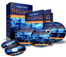 Your First Thousand a Step By Step Blueprint To Make Money Online Videos CD PDF