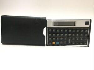 Vintage HP 15C Hewlett Packard RPN Scientific Calculator USA 1982 with Case