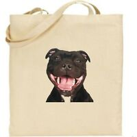 Staffy - Staffordshire Bull Terrier tote - Bag for life - Cotton - Dog gifts