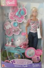 BARBIE POSH PETS KITTEN STYLE AND ACCESSORIES