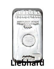 250 Gramm (g) Silberbarren Schloß Güldengossa 999 Feinsilber orig. verschweißt