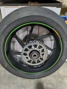 Kawasaki Zx10rr Marchesini Forged OEM Rear Wheel  500 Miles