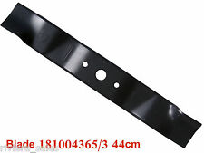 "Mountfield 17"" 44cm Mower Blade 181004365/3 Fits SP474 SP454 SP180 Genuine Part"