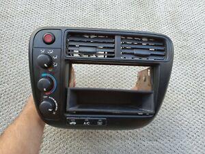 1999-2000 Honda Civic Climate Heater AC Control Radio bezel vents HVAC A/C OEM