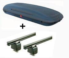 vdpca480 Caja de techo 480l Aspecto Carbono + BACA Aurilis Pro PEUGEOT BIPPER AB