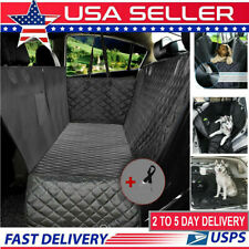 Nonslip Pet Car Back Seat Cover Cat Dog Pet Waterproof Protector Hammock Black