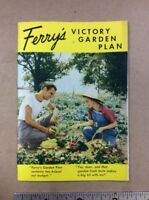 1942 Ferrys Seed Victory Garden Brochure FREE SHIPPING  INV-B16