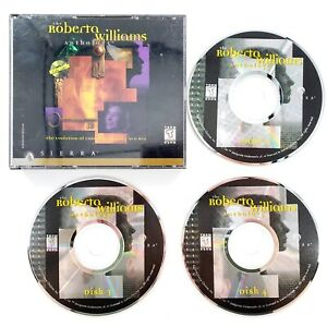 Roberta Williams Anthology (PC, 1996) Missing Disc 1 & Manual Incomplete *READ*