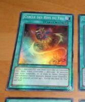 TCG Yu-Gi-Oh SUPER RARE CARD CARTE Cercle Des Rois Du Feu SDOK-FR023 1ERE ED FR