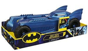Batman Batmobile for 30 cm Figures, 4 Years and above, BLUE, BRAND NEW