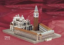 Souvenir Italia Venezia Piazza S. Marco 3D resina 23X13 cm Arte Storia by Paben