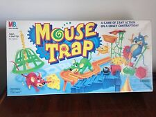 Vintage 1994 Milton Bradley Mouse Trap Board Game - 100% Complete!