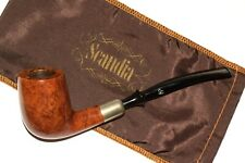 1970's SCANDIA by STANWELL 227 SLIM DANISH ARMY BRIAR PIPE * L. NEW* pfeife pipa