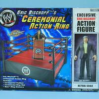 Eric Bischoff Ceremonial Ring - WWE Jakks Vintage Wrestling WWF Exclusive Figure