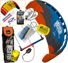 HQ Rush V Pro 350 3.5M Trainer Kite Kiteboarding Snow Power Foil + 2ND HQ Kite M