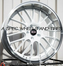 STR 514 20x9/10.5 5x114.3 +35/40 White Rims Fits G35 Coupe 370Z Supra Is350