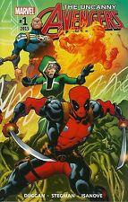 UNCANNY AVENGERS #1 MARVEL COMICS LOT OF 10X COPIES NEAR MINT or BETTER